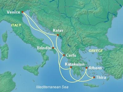 קרוז לים האדריאטי מונציה