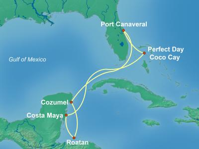 שייט לקריביים | האוניה הגדולה בעולם